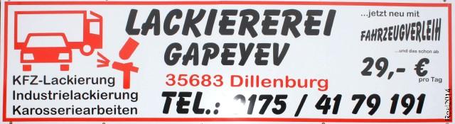 Lackiererei Gapeyev