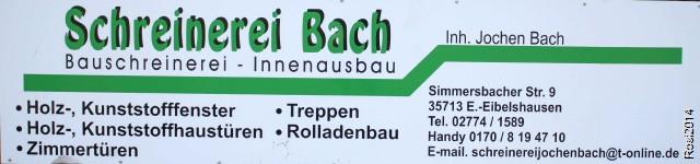 Schreinerei Bach