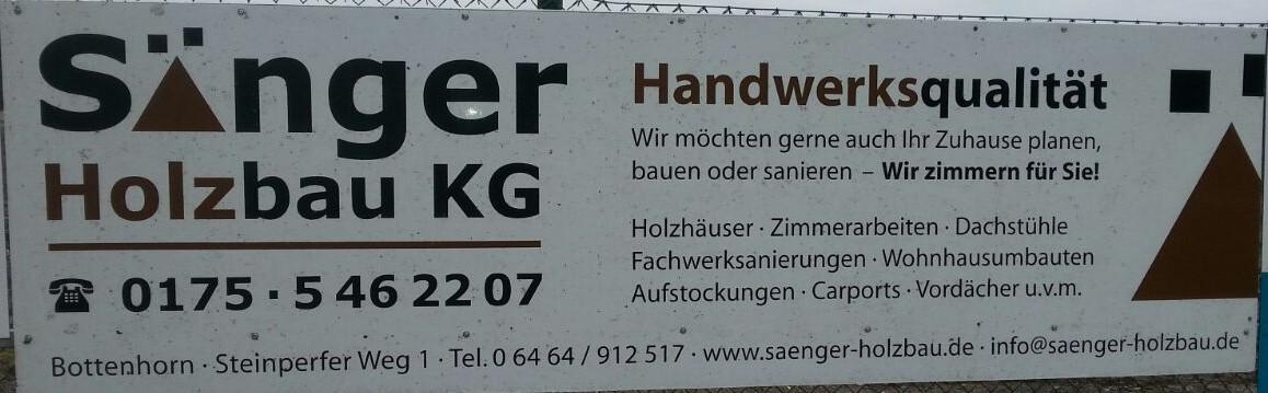Sänger Holzbau KG