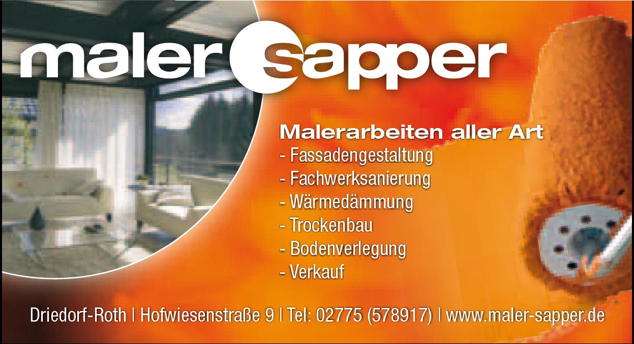 Maler Sapper